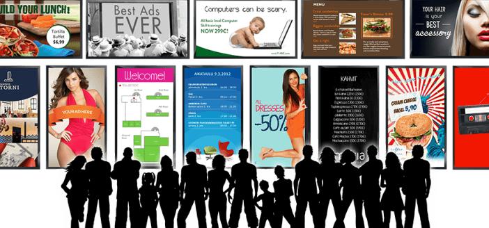 Consejos para el diseño de Cartelería Digital (Digital Signage)