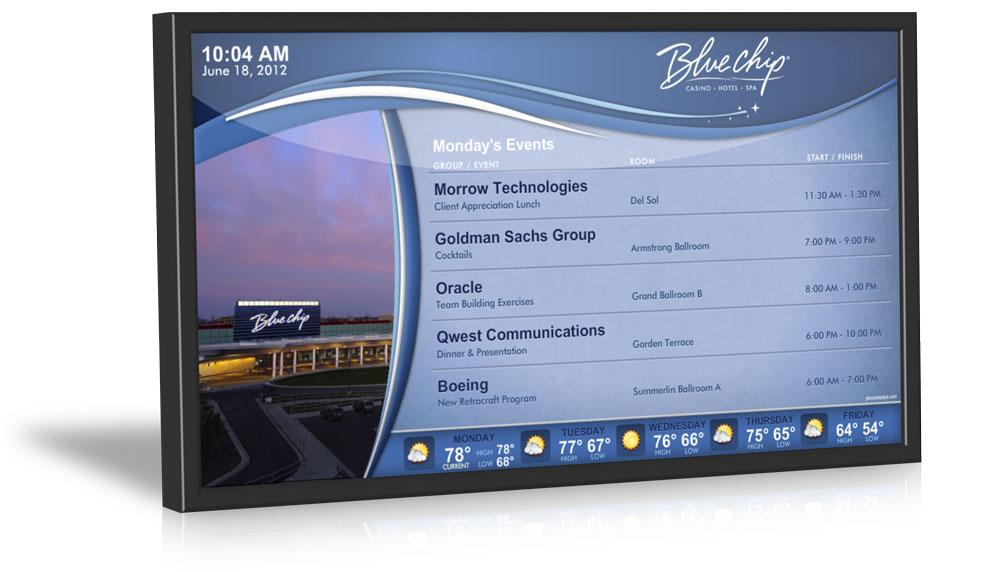 pantallas alta luminosidad publiscreen carteleria digital bajo coste salamanca